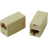 Адаптер проходной VCOM VTE7713-1   RJ-45 - RJ-45 проходной, кат. 5e