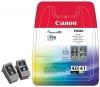 Комплект картриджей  PG-40/CL-41 (Canon Pixma 1600/2200/6210D/MP150/170/210/450) (о) 0615B043