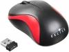 Мышь радио (USB) Oklick 605SW черный/красный (1200dpi) (3but)