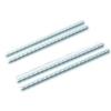 Пружины для переплёта пластиковые (диаметр  8мм, 100шт) белые ( 45 л)