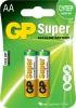 Батарейка AA GP 15A (LR6) Super Alkaline (2шт. в уп-ке)