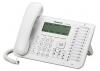 Телефон Panasonic KX-NT546RUW белый (системный телефон, IP)