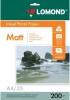 Бумага для стр. принтеров (200г/м2, 25л, А4 матов, 2-ст) 0102052 Lomond